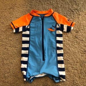 Cabana Life Swim - One Piece Rash-guard Swimsuit